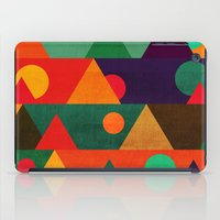 moon phase iPad Cases featuring The moon phase by Picomodi