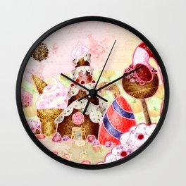Rock candy mountain Wall Clock