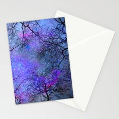Sky dreams. Serial. Blue Stationery Cards
