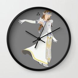 Princess Zelda(Smash)White Wall Clock