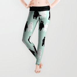 Gray Leggings