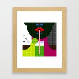 lime - lime II Framed Art Print