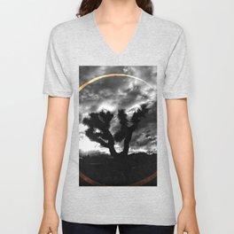 Sacred Joshua Tree — Icons & Relics. Unisex V-Neck