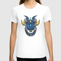 warcraft T-shirts featuring Blue Dragonflight Crest by Falling Stardusk