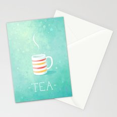 Tea Stationery Cards