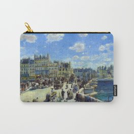 Auguste Renoir Pont Neuf, Paris Carry-All Pouch