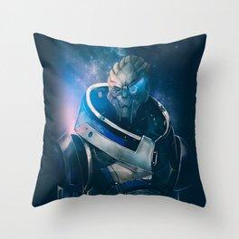 Garrus Vakarian - The Archangel Throw Pillow