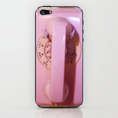 Pink Phone iPhone & iPod Skin