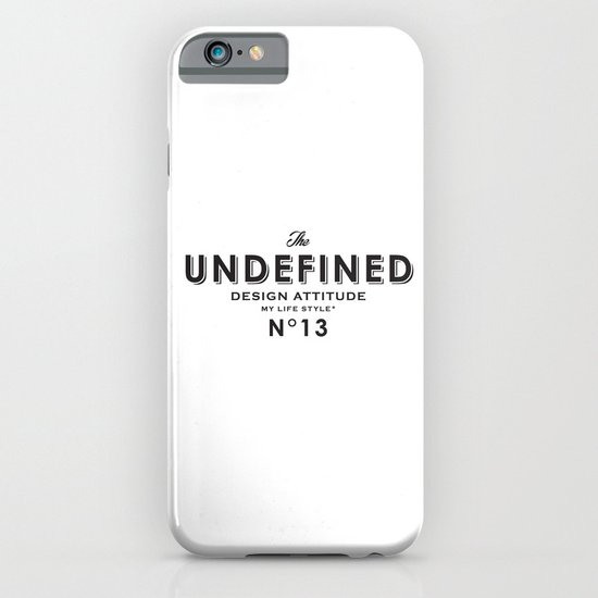Undefined iPhone & iPod Case