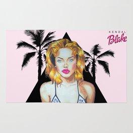 Golden Barbie Rug