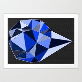 Shine on crazy diamond Art Print