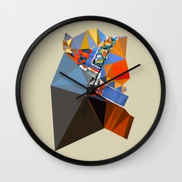 shape of my heart Wall Clock