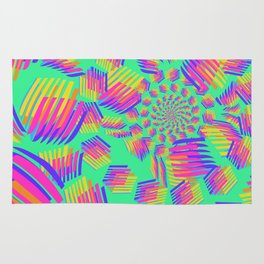 Spring breakers - geometric color Rug