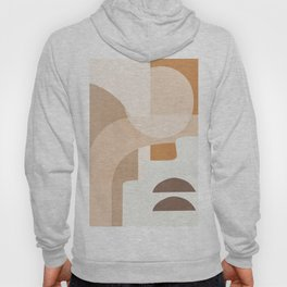 Abstract Minimal Shapes 19 Hoody