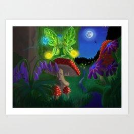 Fairy Energy Art Print