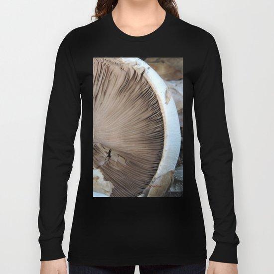 TEXTURES -- Mushroom Uprooted Long Sleeve T-shirt