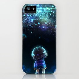 Starry (Night) Undertale iPhone Case