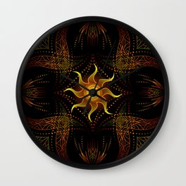 sun energy. part two Wall Clock