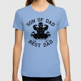 Son of dad, best dad T-shirt