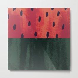 Sassy Strawberry Metal Print