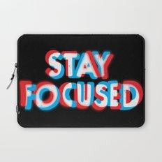 Stay Focused Laptop Sleeve