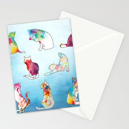 Painted Cats Stationery Cards