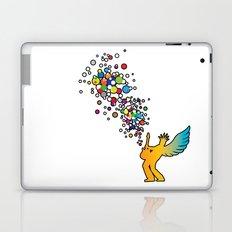 Rock Baby! - Guitar solo, Music (color) Laptop & iPad Skin