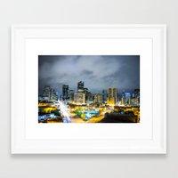 denver Framed Art Prints featuring Denver by Kodablck