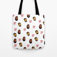 the 100 Tote Bags featuring 100 by Gone