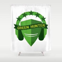 GREEN HUNTER Shower Curtain