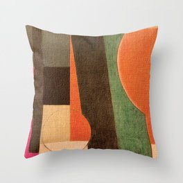 Soccer in the Sand Throw Pillow