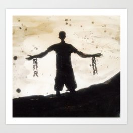 Freedom in You at the Cross Art Print