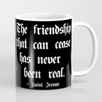 friendship Mugs featuring Friendship by GLR67