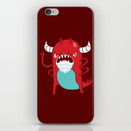 Monster Nagging iPhone & iPod Skin