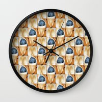 wallpaper Wall Clocks featuring Wallpaper by michel mees
