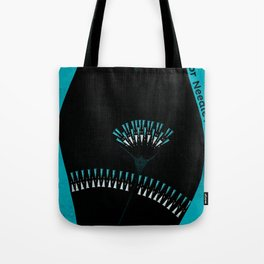 KinkyABC N is for Needle Play Tote Bag