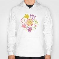 oriental Hoodies featuring Oriental Blooms by Poppy & Red