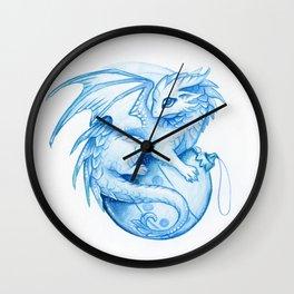 New Year dragon Wall Clock