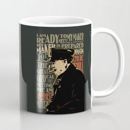Winston Churchill Pop Art Quote Coffee Mug