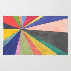 Watercolor Pinwheel Robayre Rug