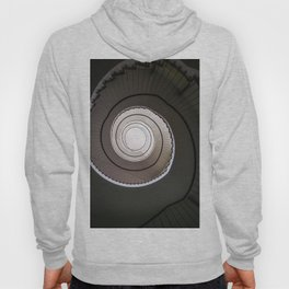 Spiral staircase in brown and beige tones Hoody