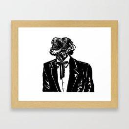 Laughing Monkey Framed Art Print