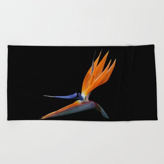 Bird of Paradise DPG160420a Beach Towel