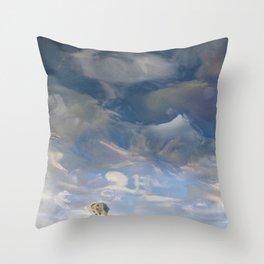 Semiotic Sky  Throw Pillow