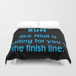 Run like Niall Duvet Cover