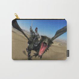 Armored Dragon Carry-All Pouch