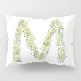 Initial M Pillow Sham