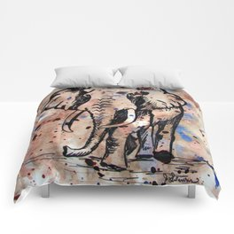 Eager Elephant Comforters