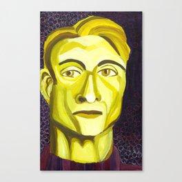 Complementary Roy Lichtenstein Canvas Print