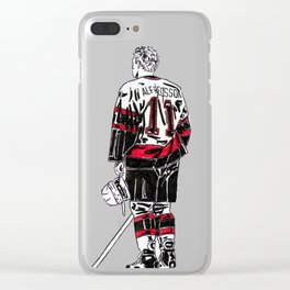 Alfredsson 1 Clear iPhone Case
